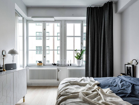 Apartamento tipo loft con grandes ventanales