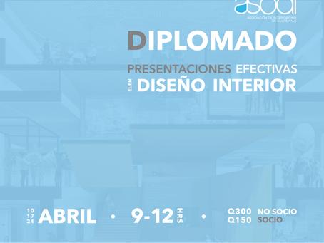 Diplomado Presentaciones Efectivas en el Diseño Interior