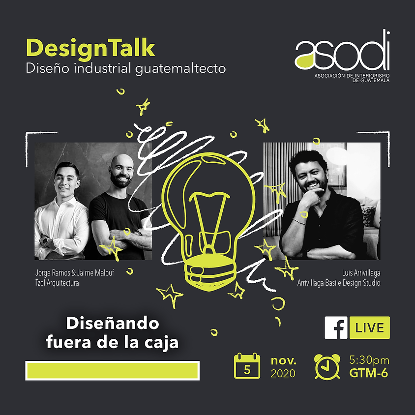 DesignTalk | Diseño industrial guatemalteco