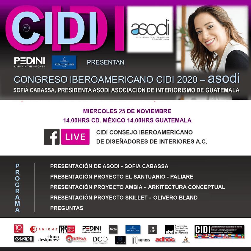 Presentación ASODI en Congreso Iberoamericano de Diseñadores de Interiores (1)