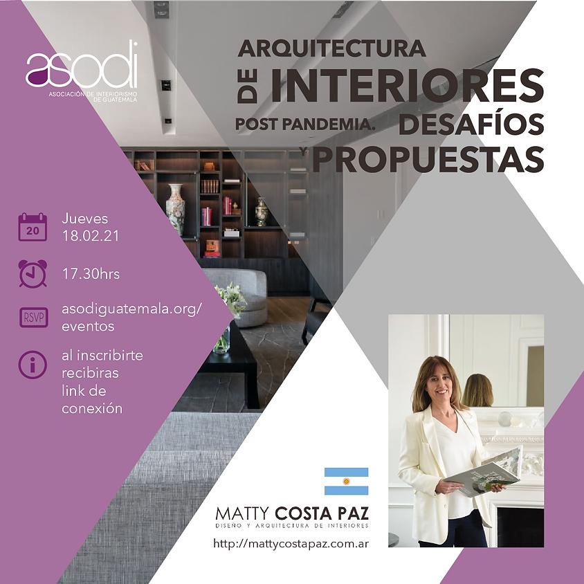 Arquitectura de interiores Post Pandémica.  Desafíos y Propuestas.