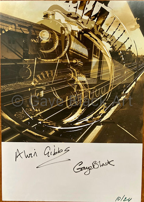 GHOST TRAIN ARTWORK