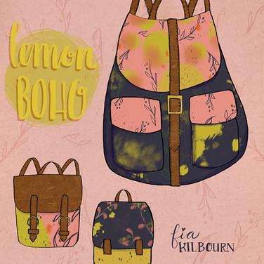 Lemon Boho Bag Collection