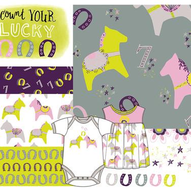 Lucky Dala Horse Collection