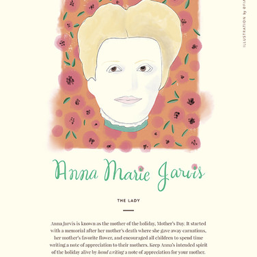 Anna Marie Jarvis Portrait