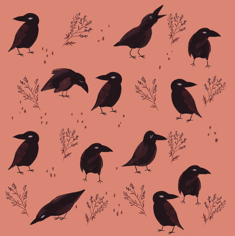 Crows at Dusk