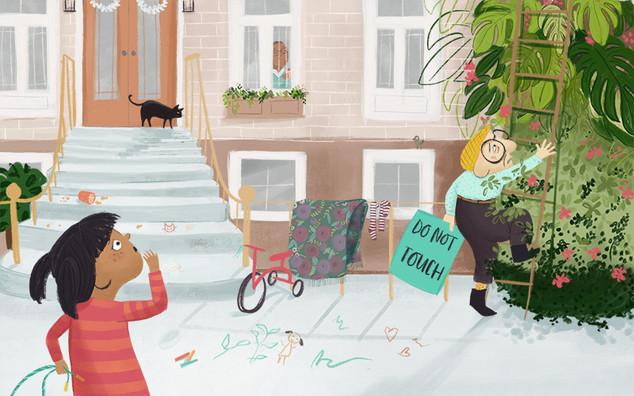 The Sidewalk Gardener