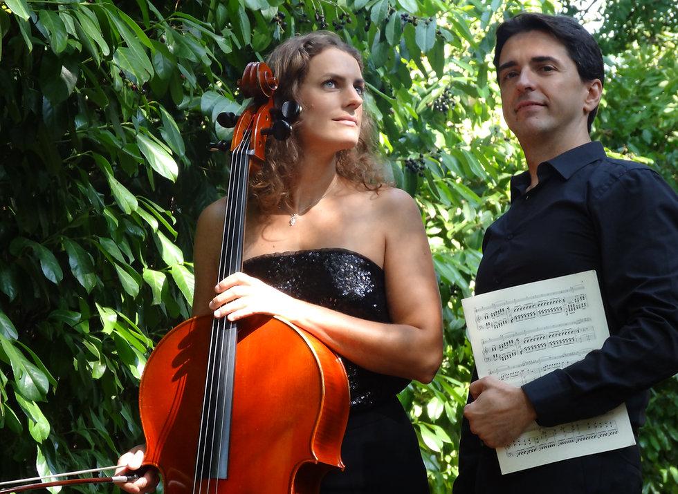 Ciné Récital Duo Alceo Passeo, piano Chloé Boyaud, violoncelle