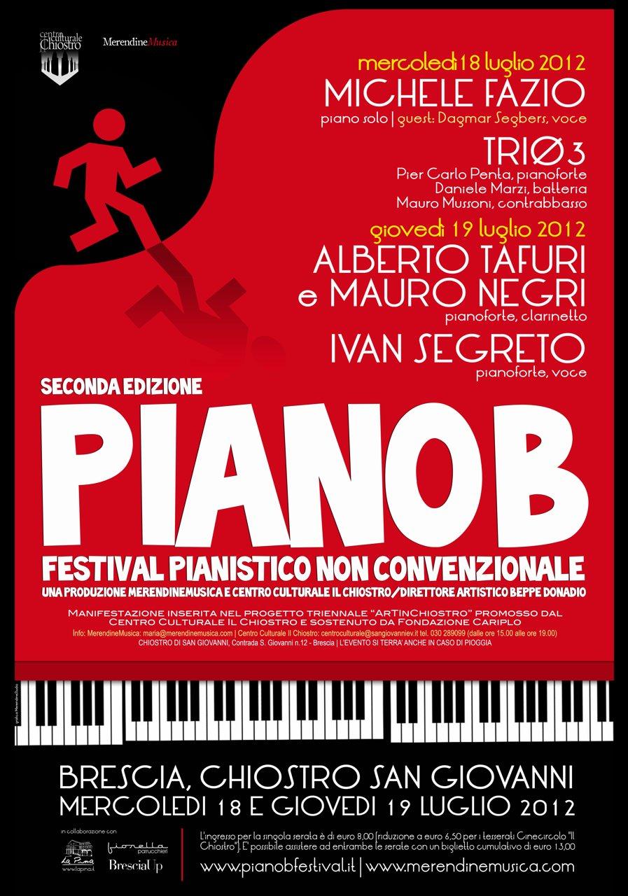 Festival PIANO B LOCANDINA
