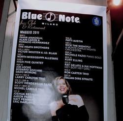 Cartellone Blue Note