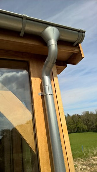lindab gutter and downpipe