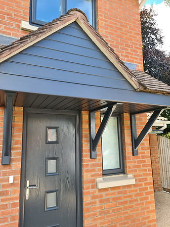 anthracite grey fascia and soffit