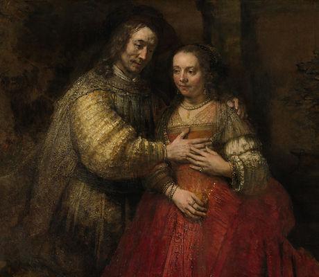 'The_Jewish_Bride', Rembrandt, Rijiksmuseum