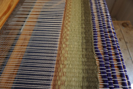 weft faced weaving
