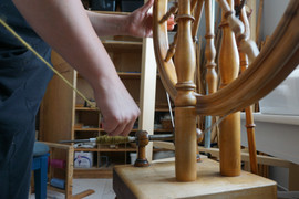 winding bobbins for weaving