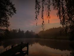 Sonnenaufgang Birkach