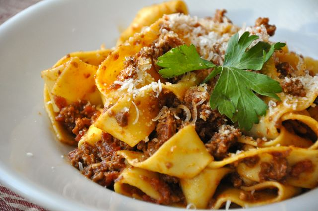 plated-bolognese