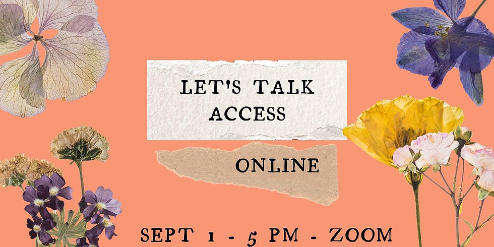 Let's Talk Access Online Workshop