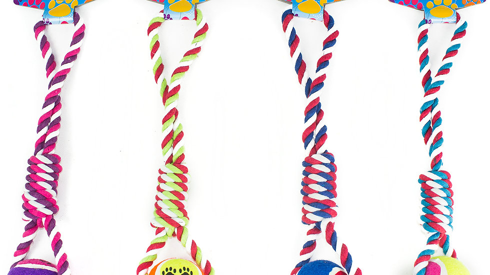 Knotted Rope Tug Toy