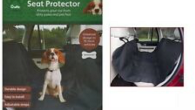 CRUFTS WATERPROOF CAR REAR BACK SEAT COVER PET DOG CAT PROTECTOR HAMMOCK LINER