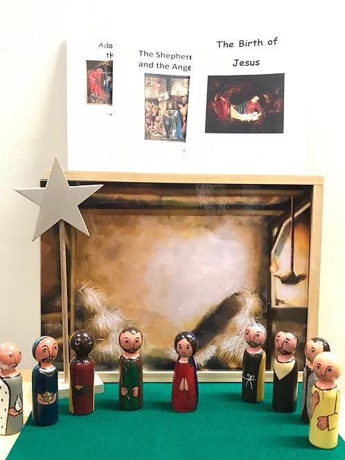 The Nativity Diorama Set