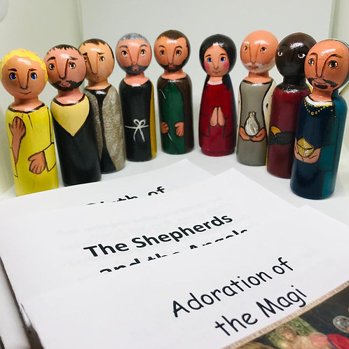 The Nativity- Figures only