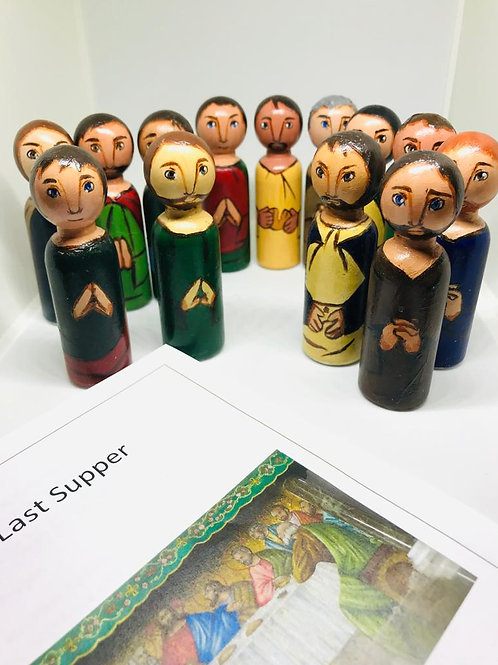 The Last Supper-Figures only