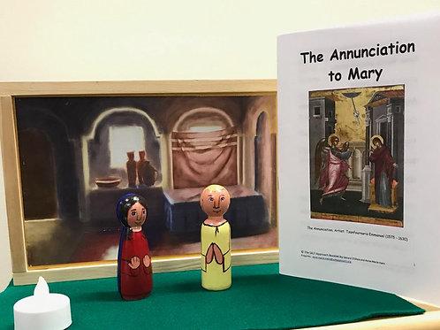 Annunciation Diorama