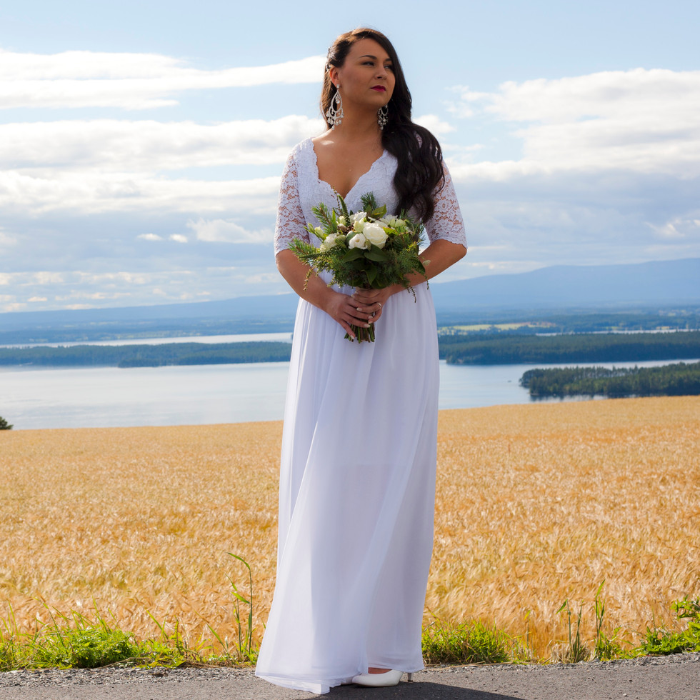 Bruden med fjäll