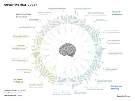 Cognitive bias in risk management