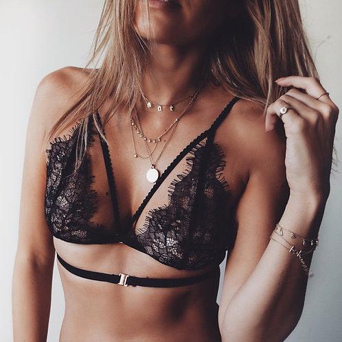 Alexa Bralette Black