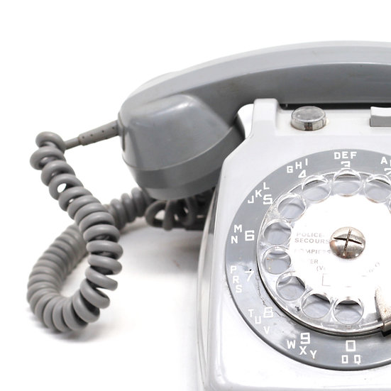 French-antique-vintage-rotary-dial-phone-1970-nz-new-zealand-image-1
