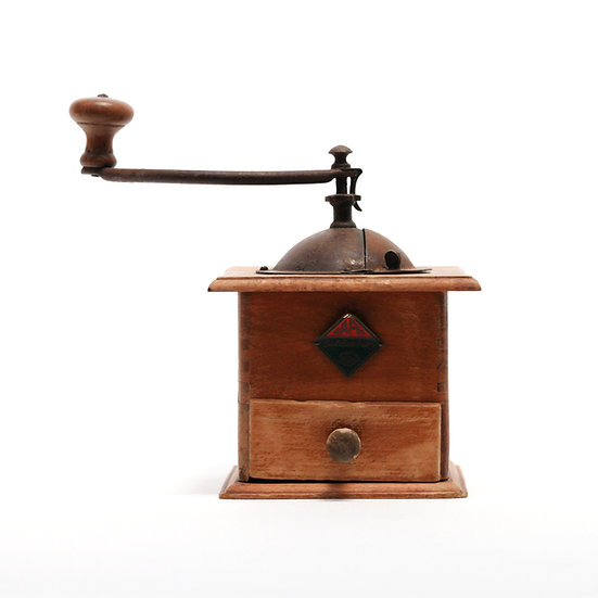 French-antique-vintage-coffee-mill-grinder-café-goldenberg-nz-new-zealand-image-1