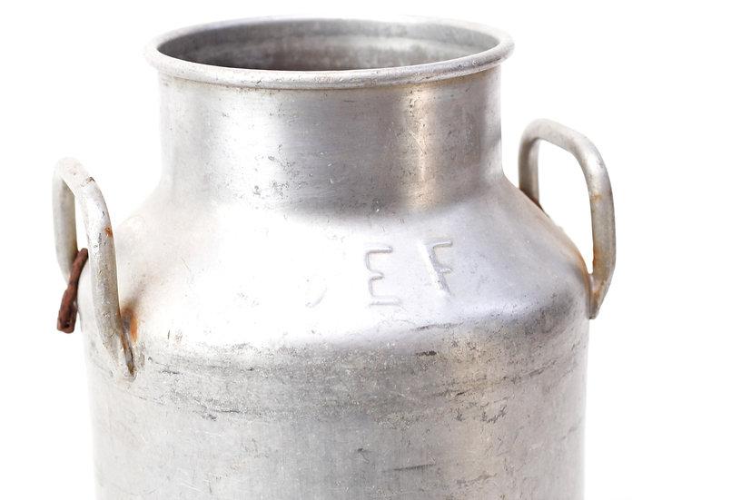 French-antique-vintage-milk-churn-can-pail-large-aluminium-SEF-Hugonnet-dijon-almashium-nz-new-zealand-image-1