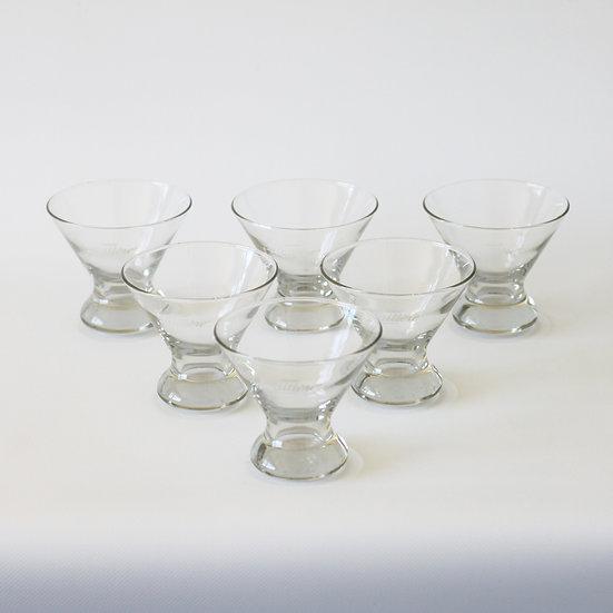 nestle la laitiere glass serving dish set French European antique vintage furniture homeware décor nz group