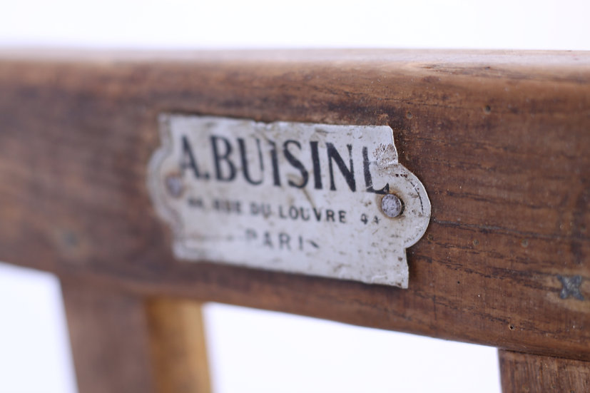 French-antique-vintage-industrial-sack-barrow-trolley-paris-A-Buisine-nz-new-zealand-image-1