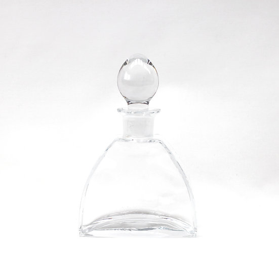 French-antique-vintage-art-deco-glass-liquor-decanter-with-stopper-nz-new-zealand-image-1
