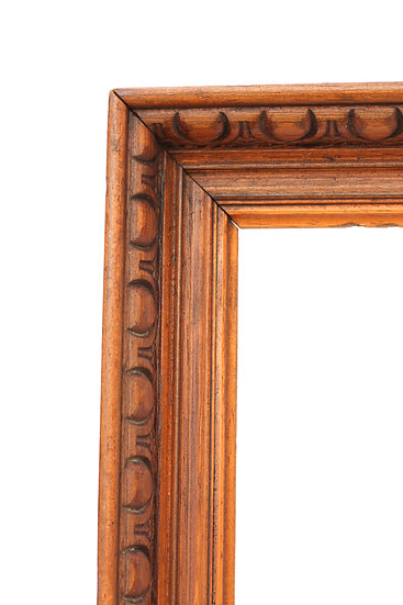 French-antique-vintage-wooden-picture-frame-carved-large-nz-new-zealand-image-1