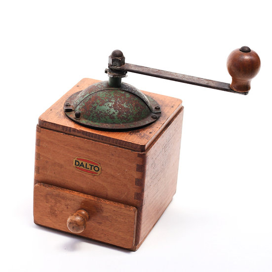French-antique-vintage-coffee-mill-grinder-dalto-nz-new-zealand-image-1