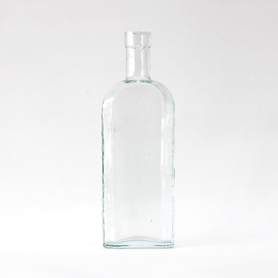 Sirop Famel glass medicine bottle