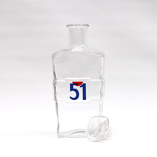 French-antique-vintage-pastis-51-water-carafe-with-stopper-nz-new-zealand-image-1