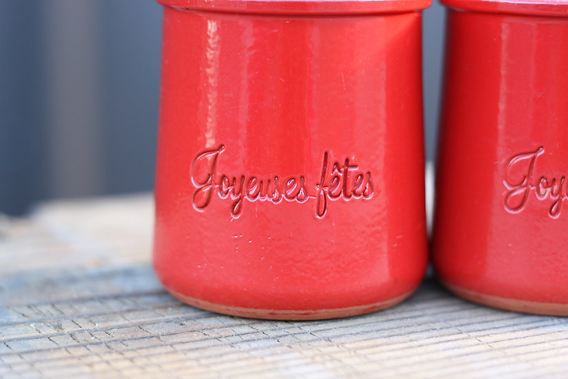 French-antique-vintage-terracotta-yoghurt-pot-red-la-fermier-joyesuses-fetes-nz-new-zealand-image-1