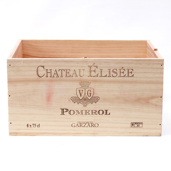 vineyard wooden wine box Chateau Elisee nz French European antique vintage furniture homeware décor nz