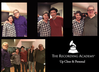 "Chilitos at The Recording Academy Producers and Engineers Wing's ""Up Close & Personal w"