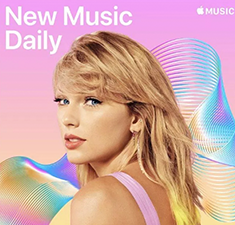 Apple Music Announces its New Music Daily Playlist and The Man - Taylor Swift new single, Is the Num