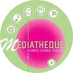 Logo médiathèque Sainte-Livrade-sur-Lot