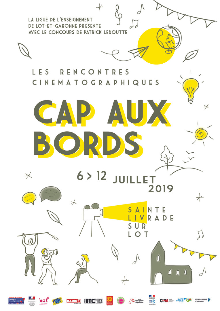 CAP AUX BORDS - affiche