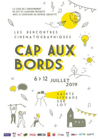 CAP AUX BORDS - affiche