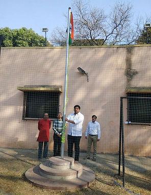 Ankit Shelke  -Youth Leader, BJP | Republic Day Flag hoisting Ceremony | Aniket-1 Co-op. Hsg. Society