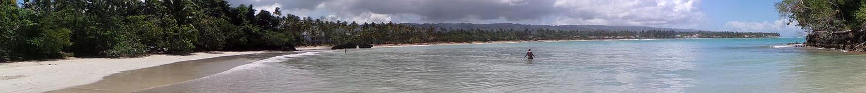 Playa Bonita , Las Terrenas , Samana , Dominikanische Republik